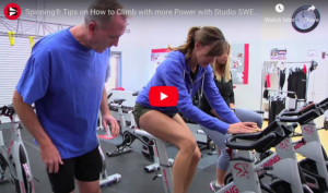spinning tips on how to climb with more power. proper foot positioning matters