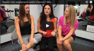 A still shot of a YouTube video discussing vitamins and supplements.