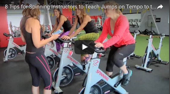 8 Tips for Spinning® Instructors to Teach Jumps on Tempo to
