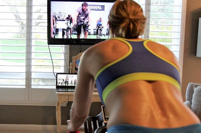Get effective, 30-minute indoor workout routines in a total