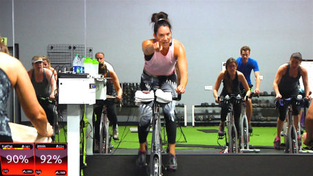 30 minute online streaming spin class