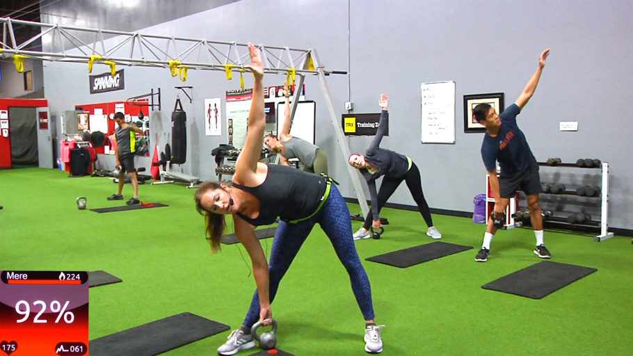 Dumbbell or Kettlebell HIIT Bootcamp workout class video