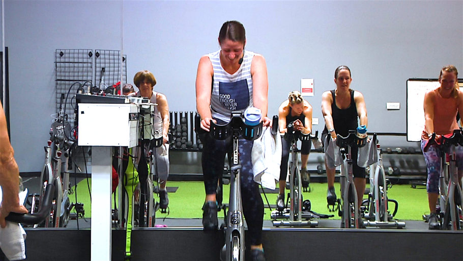 Spin® Core - NO FLAT ROADS! best online spin classes