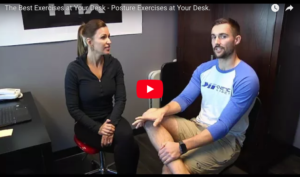 The Best Exercises at Your Desk - Posture Exercises at Your Desk.
