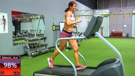 online treadmill workout hills and drills