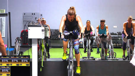 best online spin classes 30 Minute Spin® - Flat Road, Flat Belly!