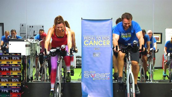 best online spin classes 60 Minute SWEAT - Pedal to End Cancer