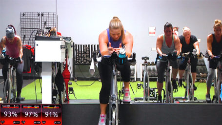 best online spin classes StraightUp Spin® - Speed Demon Soaking