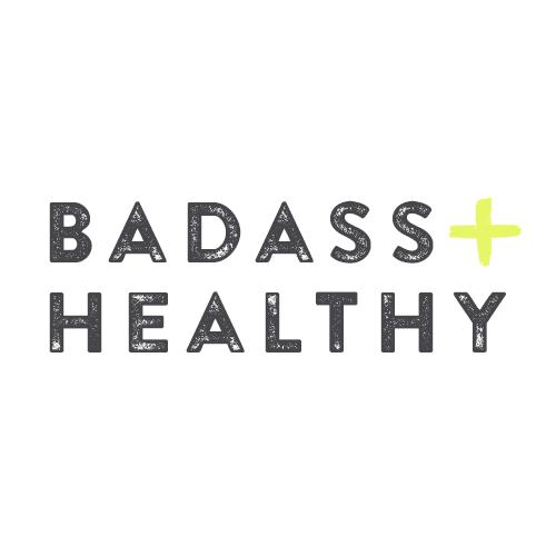 badass + healthy logo