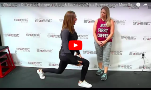 best leg sculpting exercises Forward vs. Reverse Lunges - What's the Diff?!
