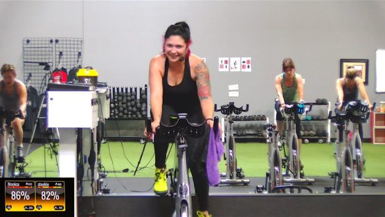 StraightUp Spin® - Fit & Fun Ride spin cycle class