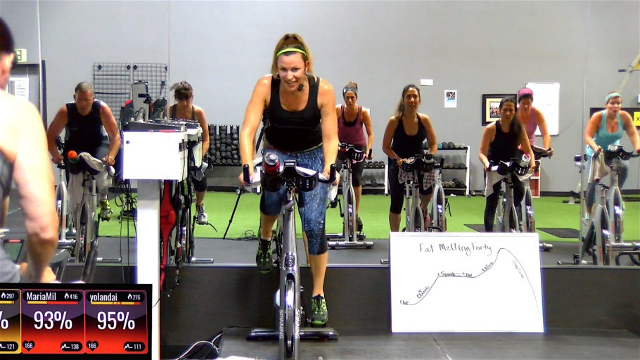 Fat Melting Forty (Bonus Sculpt Option at the End!) spin cycle class