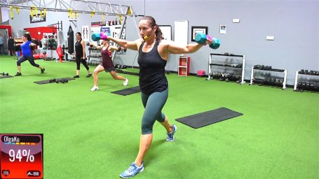Total Body Treat in 20 body sculpting exercises with free weights
