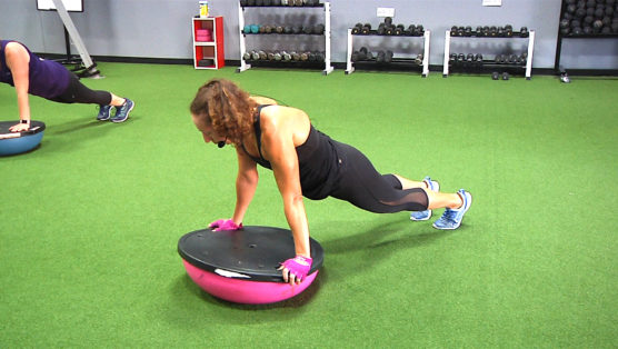 BOSU® Sculpt beginner's BOSU workout