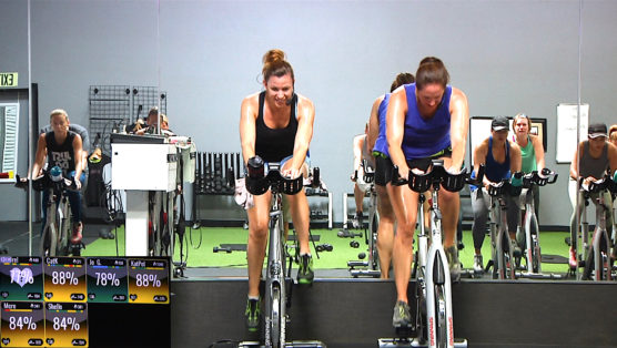 online streaming spin class Spin® Sculpt - Double Dog Dare.
