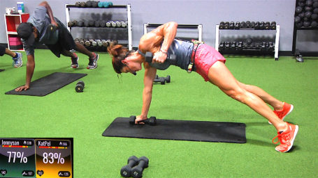 Spin® Sculpt - Double Down Drenching best online spin classes