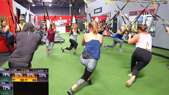 TRX Core workout Progressive Circuits