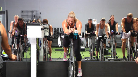 Crankin' Cycling Interval Class