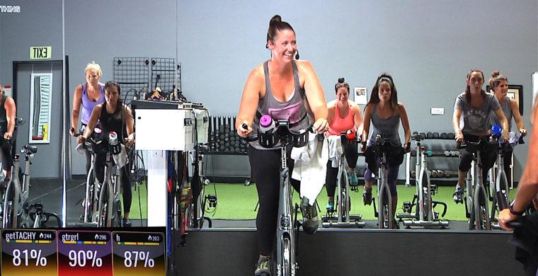 Spin® - Rockin' Spinning class Lady Bangerz