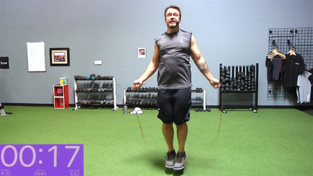 Hop, Skip & Sweat online skipping routine