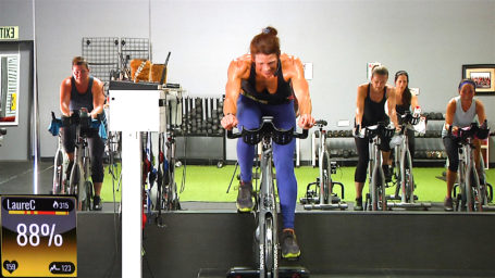 Best 45 minute onDemand Spinning class Spicy Spin