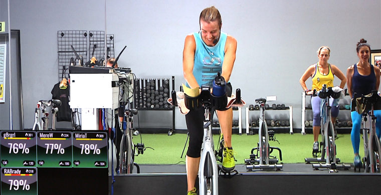 Spin®. SWEAT. Repeat. Spinning class