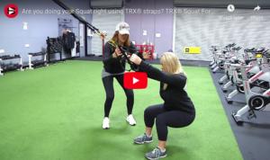 TRX Squat Form Tips