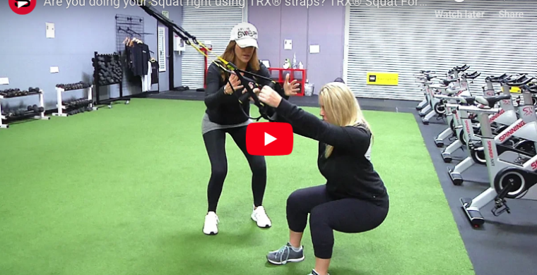TRX Squat Form Tips