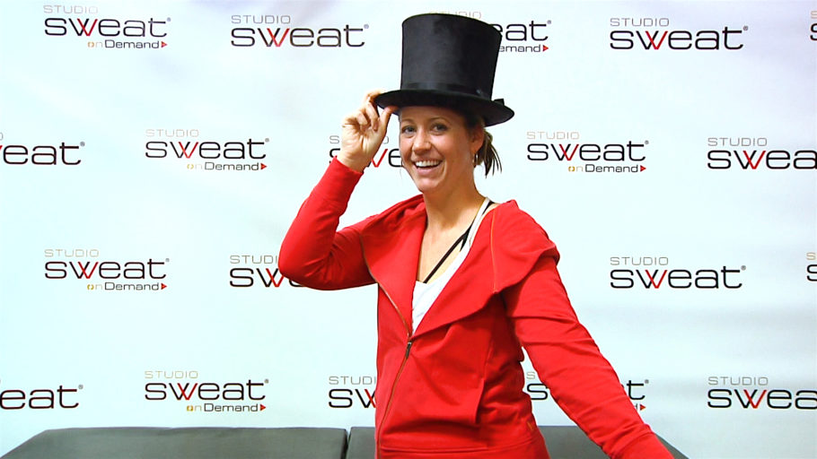 Broadway themed online Spin class The Greatest ShowWoman Ride