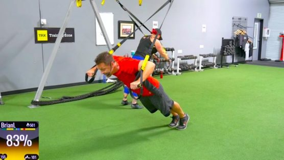 TRX Total Body class drive to 45