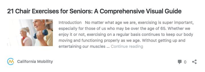 21 chair exercises for seniors