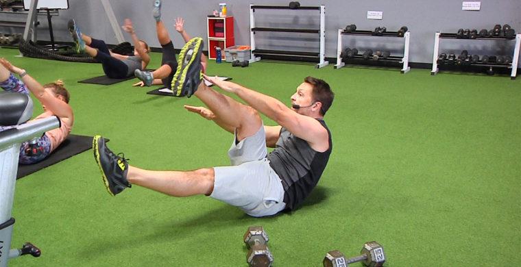 Ab & Core - 10 Minutes of Tough online core workout for men