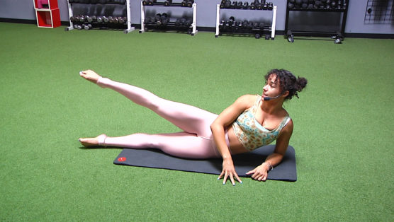 online Mat Pilates class Pilates with a Punch