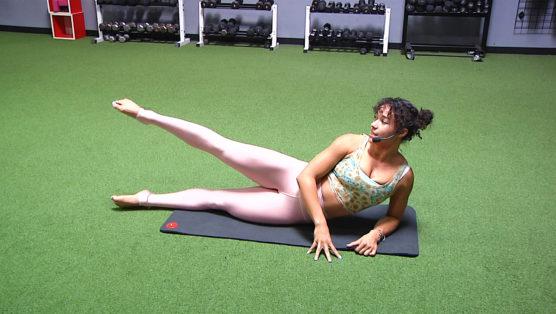 online Mat Pilates class Pilates with a Punch