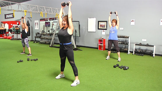 30 minute weight lifting class that's great for the active older adult