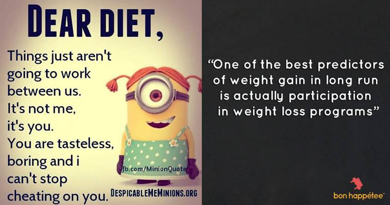 diet quote and meme