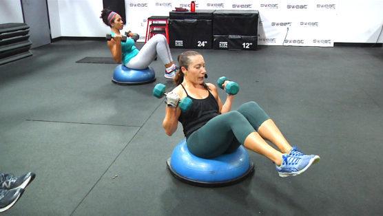 online BOSU workout BOSU® Cardio & Carve