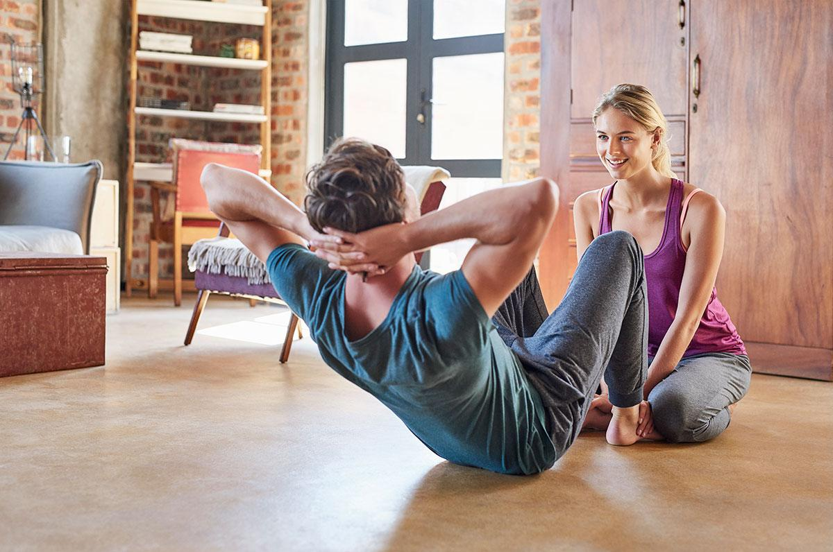 ultimate couples workout for home