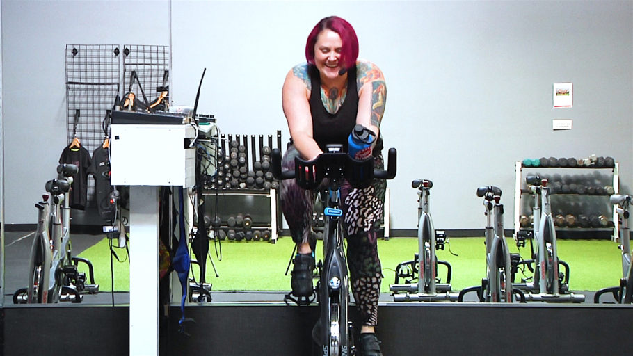 10 minute saddle only Spin workout