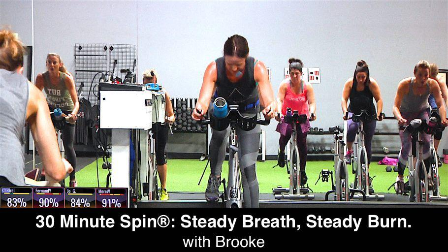brooke spin workout