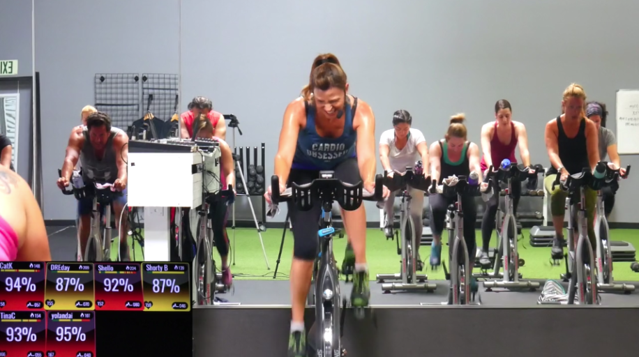 20 minute seated Spin class