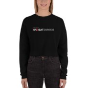 Fitness Fanatic Crop Sweatshirt