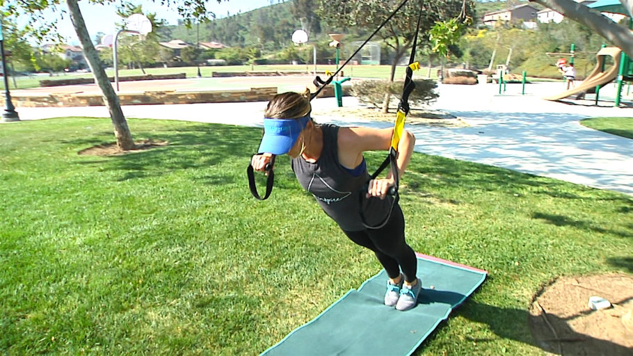 top outdoor TRX class TRX® in the Park