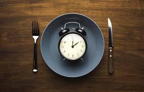 clock in plate