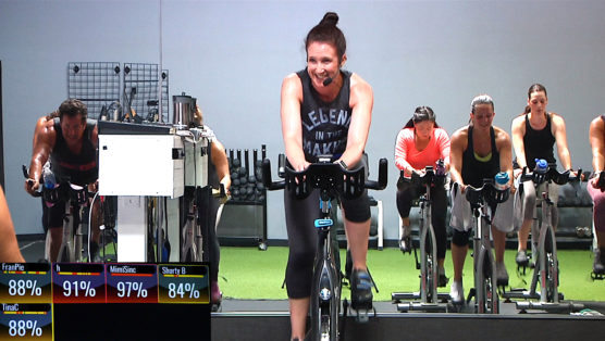 High Intensity spin workout Ride