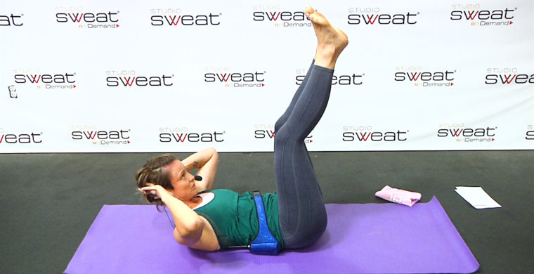 Postpartum Pilates Ab Workout