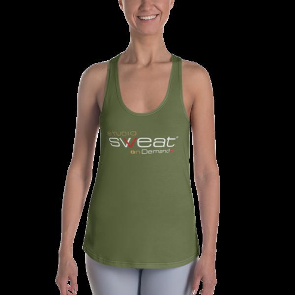 SSoD_Racerback_mockup_Front_Woman_olive-2