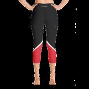 Zen Warrior Capri Yoga Pant – Racer Red