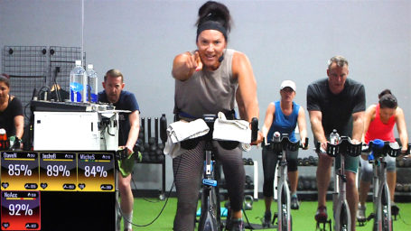 top online Cycling class Spin® Intervals - Sweet Sweat!