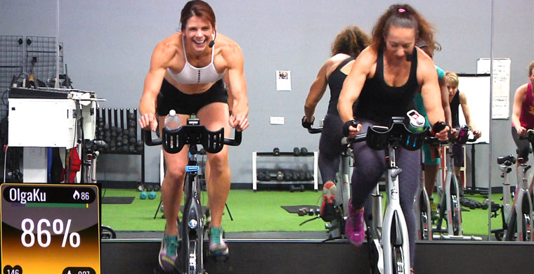 online Spin and Sculpt Routine- Olga...Rebecca...What the!